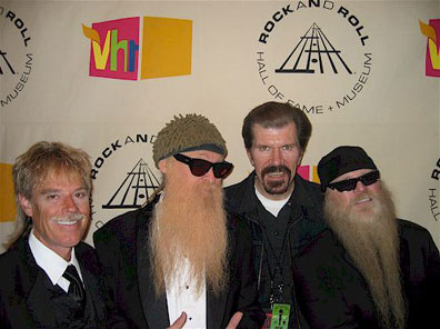 Did you know that on March 15, 2004 - ZZ Top was inducted into the Rock and Roll Hall of Fame.